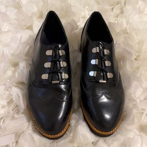 Rebecca minkoff  leather woman's Oxford shoes